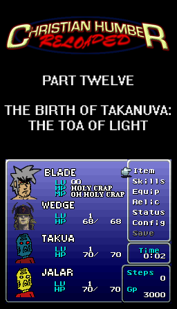 CHAPTER TWELVE : THE BIRTH OF TAKANUVA: THE TOA OF LIGHT
